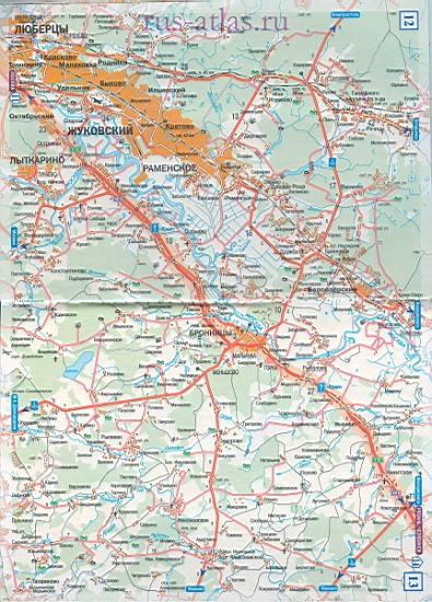 Карта дороги Москва Рязань. Детальная крупномасштабная ...: http://map-auto.ru/1386814.html