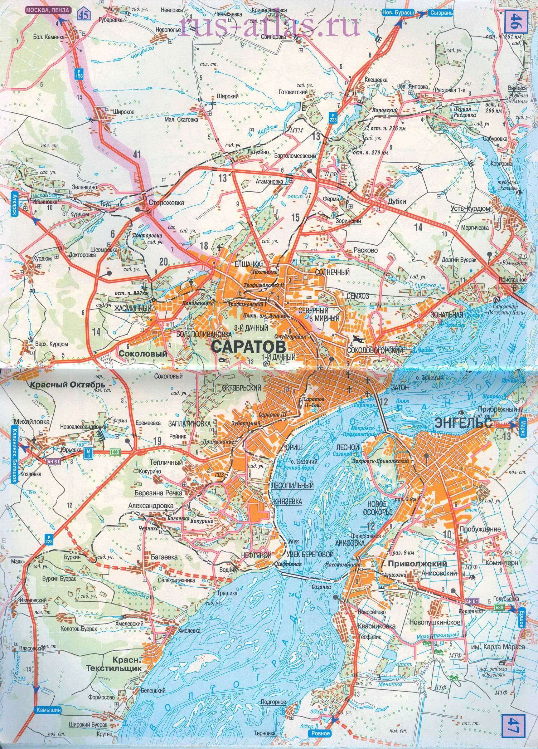 Карта дороги Пенза - Саратов ...: map-auto.ru/map1386773_3_0.htm