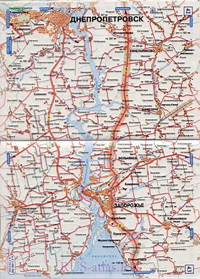 Карта дороги Харьков