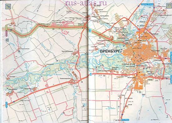 Карта дороги Бузулук Оренбург. Детальная карта ...: http://map-auto.ru/1386647.html