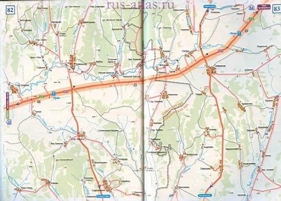 Самара Октябрьский карта автомобильной дороги. Федеральная ...: http://map-auto.ru/1386690.html