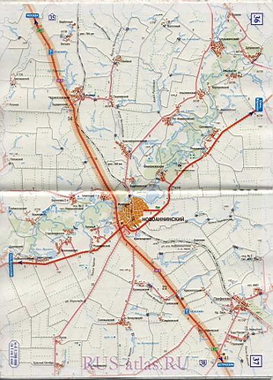 Карта дороги