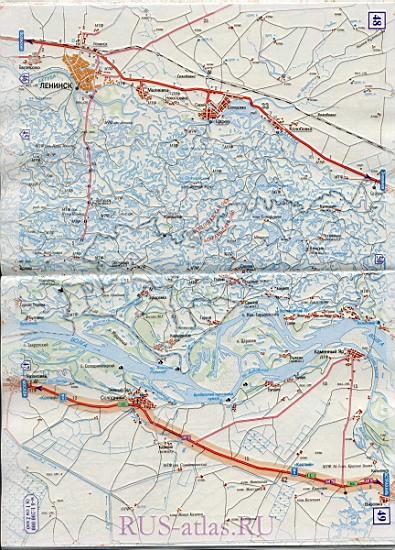 Схема федеральных дорог россии 91