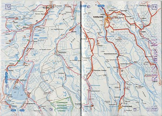 Схема федеральных дорог россии 45