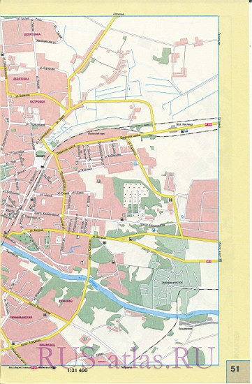 Карта Гродно. Подробная карта