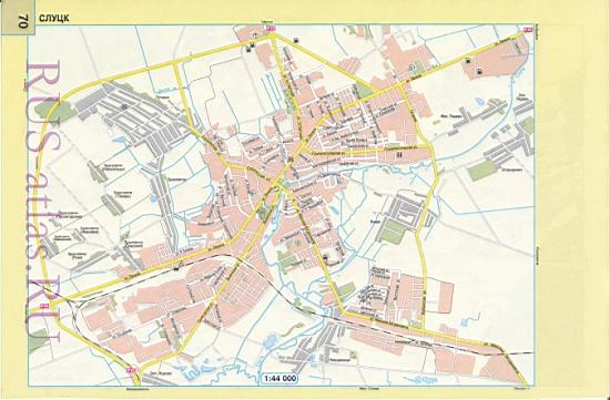 Карта Ижевска с улицами и