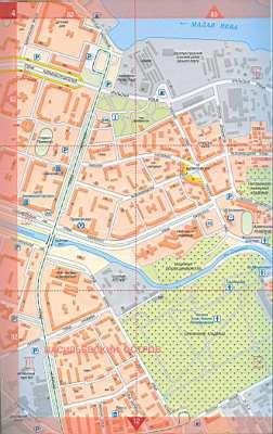 Санкт петербурга подробная карта спб