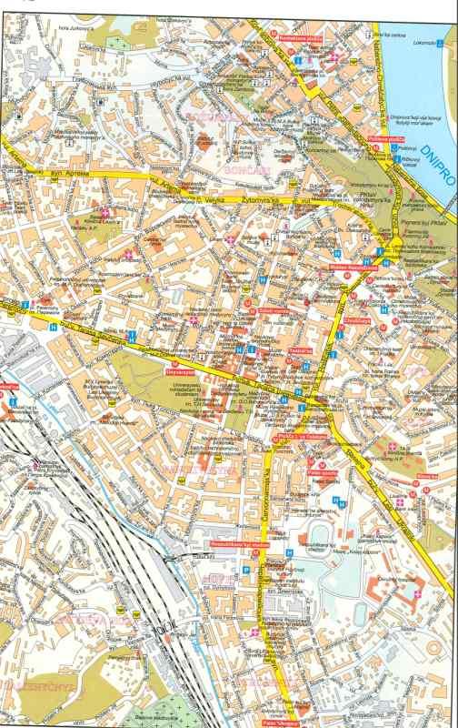 Украина карта киева подробный план