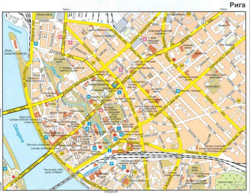 Города Латвии: Рига / Travel.ru / Латвия