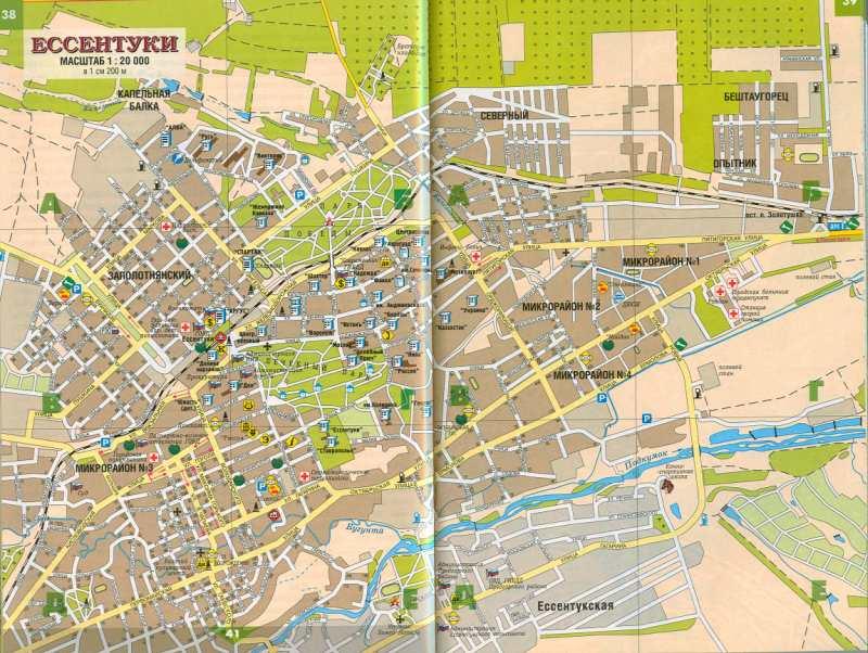карта улиц города
