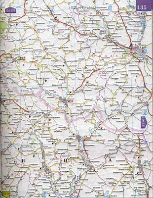 Карта 1см 5км белгородская область