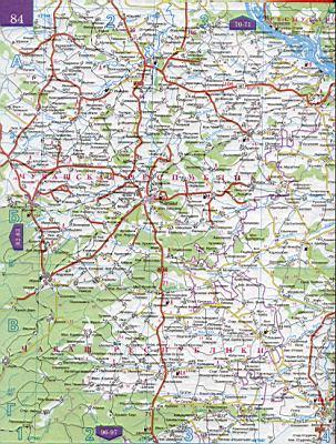 Карты Автомобильных Дорог Нижегородской Области