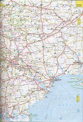 Украина карта на русском детальная