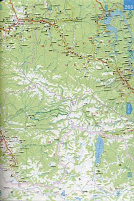 подробная карта красноярского края скачать бесплатно - фото 11
