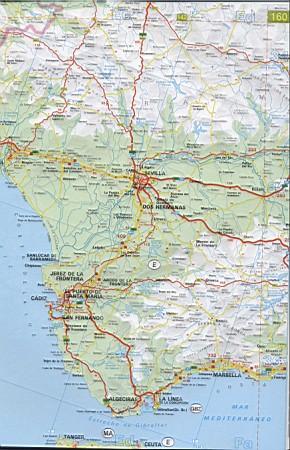 Карта большая очень подробная карта