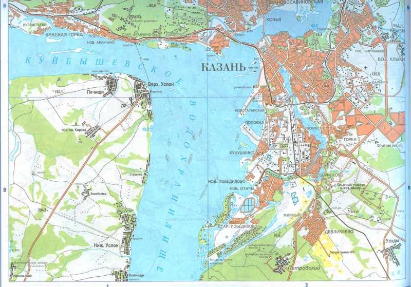 Карта дорог татарстана