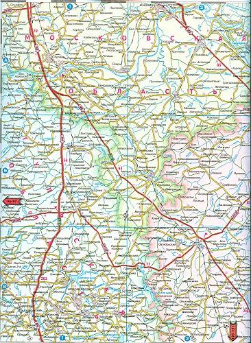 Карта центральной России. Карта авто дорог центра России ...: http://map-auto.ru/306552.html