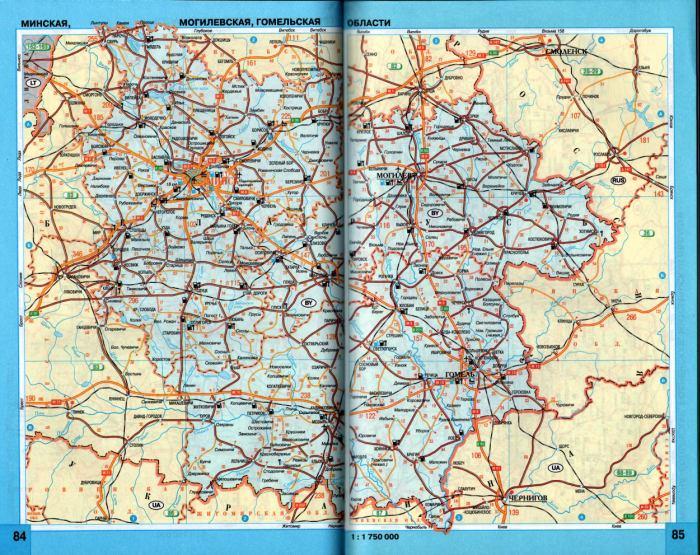 Схема железных дорог россии с