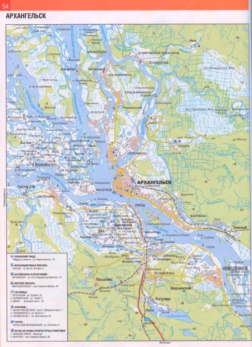Карта-схема проезда транспорта
