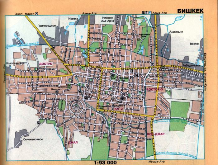 План схема проезда через