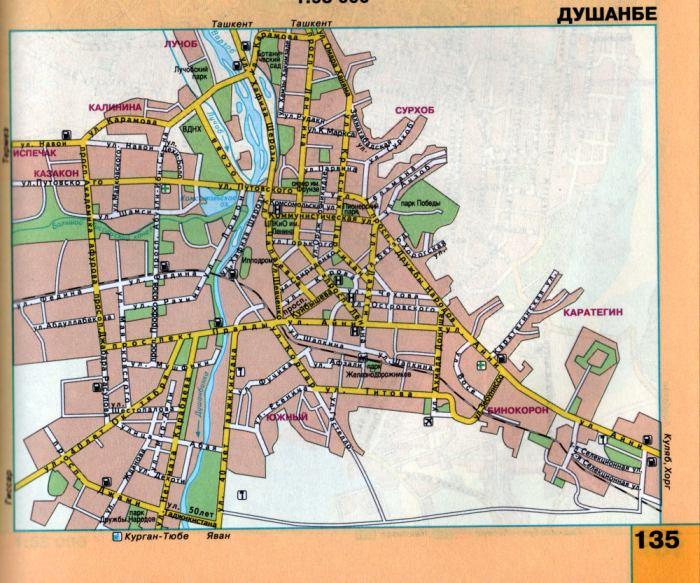 Карта орла подробная - карты