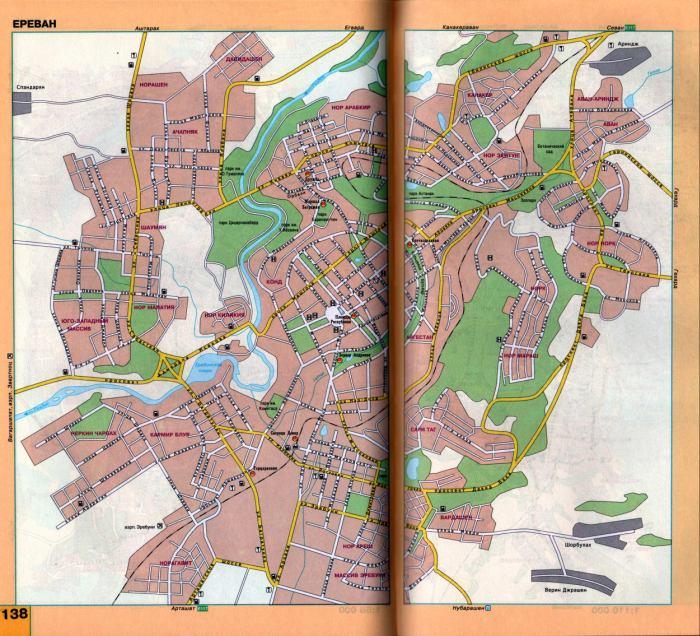 Скачать Карту Еревана На Русском Языке - фото 4
